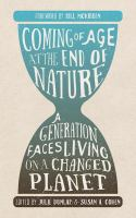 Coming of Age at the End of Nature