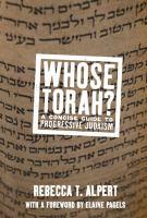 Whose Torah?