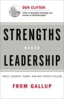 Strengths based leadership cover art