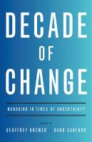 Decade of Change