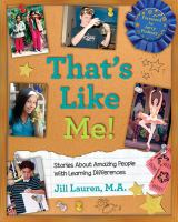 Cover of That's Like Me! Stories ab
