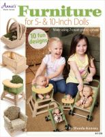 "Furniture for 5"" & 10"" Dolls"