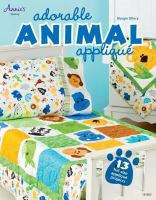 Adorable Animal Appliqué