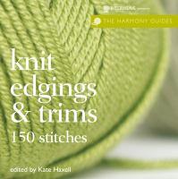 Knit Edgings & Trims