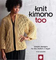 Knit Kimono Too