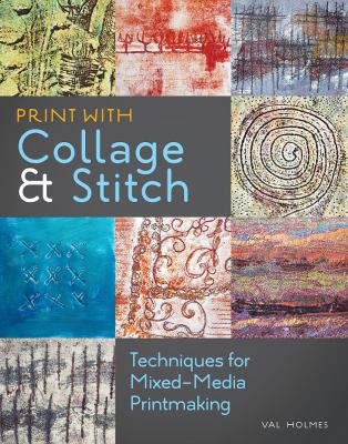 Cover image for Print With Collage & Stitch