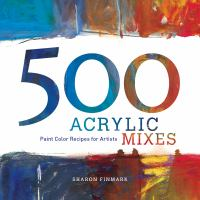 500 Acrylic mixes book cover