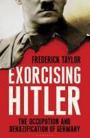 Exorcising Hitler