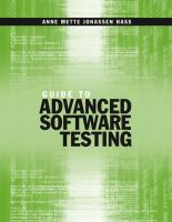 Guide to Advanced Software Testing