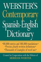 Webster's Contemporary Spanish-English Dictionary