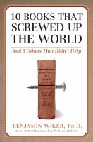 10 Books That Screwed up the World