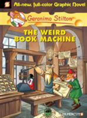 Book Cover - The weird book machine