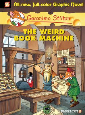 Book Cover - The weird book machine