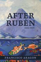 Cover of After Rubén