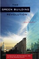The Green Building Revolution