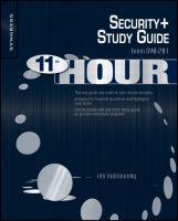 Eleventh Hour Security+
