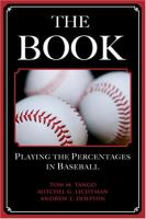 BOOK : PLAYING THE PERCENTAGES IN BASEBALL