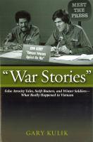 """""""War Stories"""""""
