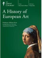 A History of European Art
