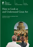 Image: How to Look at and Understand Great Art