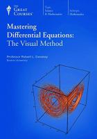 Mastering Differential Equations