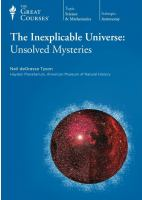 The Inexplicable Universe