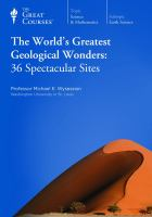 The World's Greatest Geological Wonders[DVD Kit] - Wysession, Michael