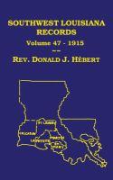 Southwest Louisiana Records