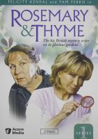 Rosemary & Thyme. Series 1