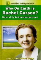 Who on Earth Is Rachel Carson?