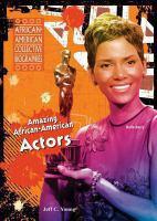 Amazing African-American Actors