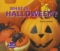 What Is Halloween?