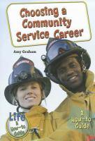 Choosing A Community Service Career