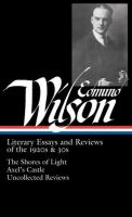 Literary Essays and Reviews of the 1920s & 30s