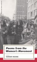 Poems From the Women's Movement / Edited by Honor Moore