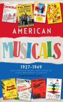 American Musicals, 1927-1949