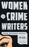 Women Crime Writers