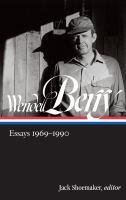 Essays 1969-1990