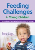 Feeding Challenges in Young Children