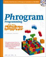 Phrogram Programming for the Absolute Beginner