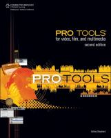 Pro Tools for Video, Film, and Multimedia, Second Edition