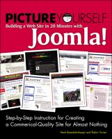 Picture Yourself Building A Website With Joomla! 1.6