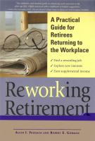 Reworking Retirement