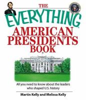 The Everything American Presidents Book