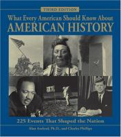 What Every American Should Know About American History