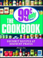 The 99 Cents Only Store Cookbook