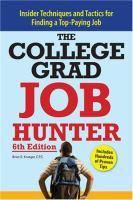 The College Grad Job Hunter
