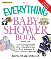 The Everything Baby Shower Book