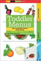 Toddler Menus