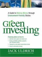 Green Investing